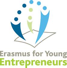 Il logo dell'iniziativa Erasmus per Giovani Imprenditori. Credits: http://www.erasmus-entrepreneurs.eu